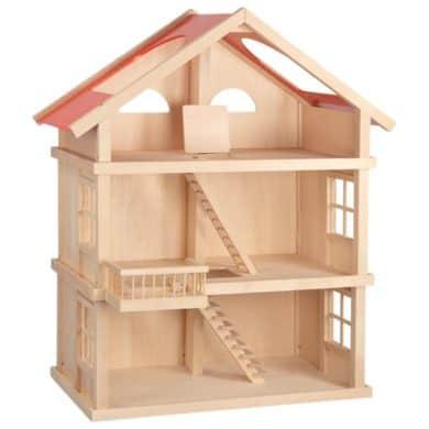Puppenhaus leer